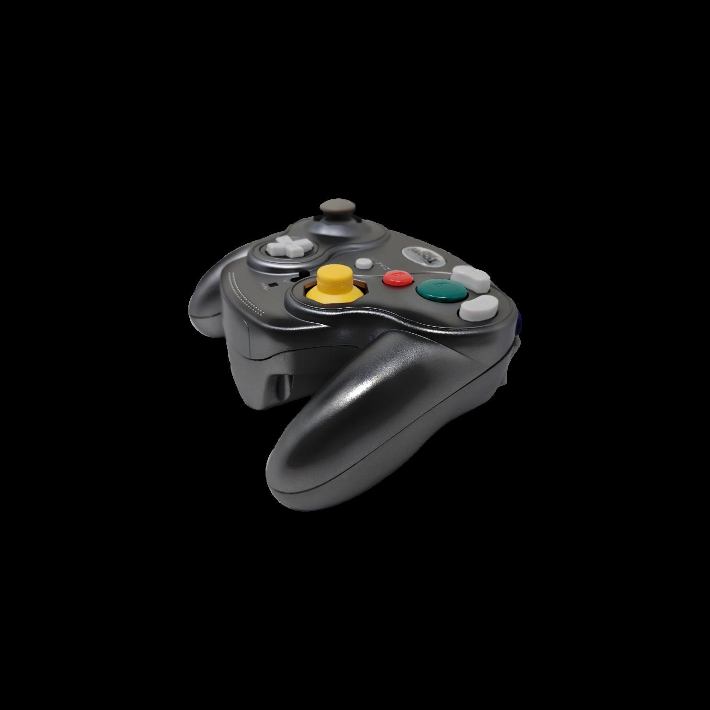 Falcon Wireless Controller for GameCube - BLACK - Nintendo