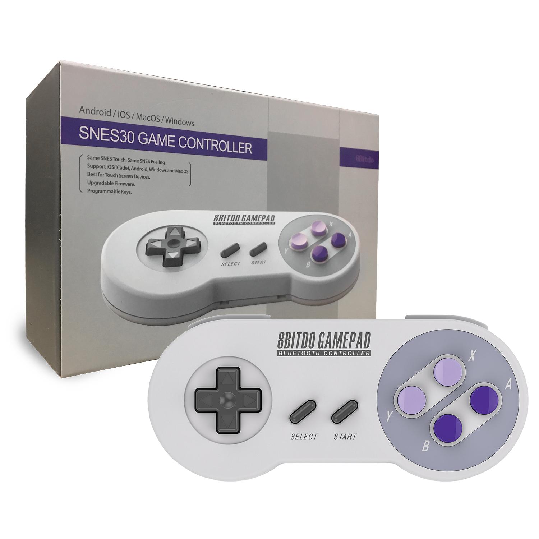 8Bitdo SNES30 Game Controller - Controllers - PC / Mac - Universal