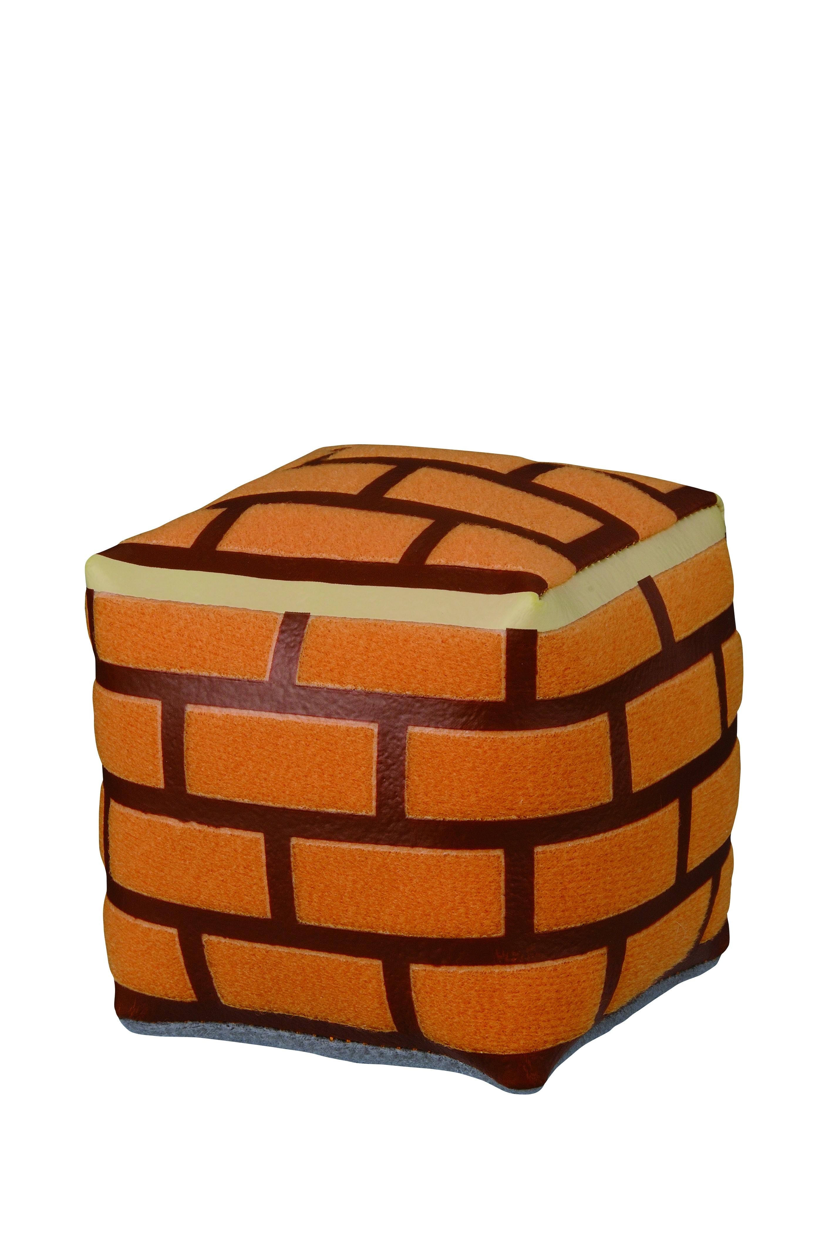 Super Mario 30th Brick Box 3 Inch Plush