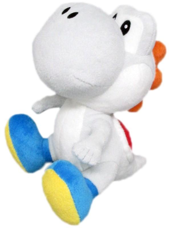 White Yoshi 6 Inch Plush