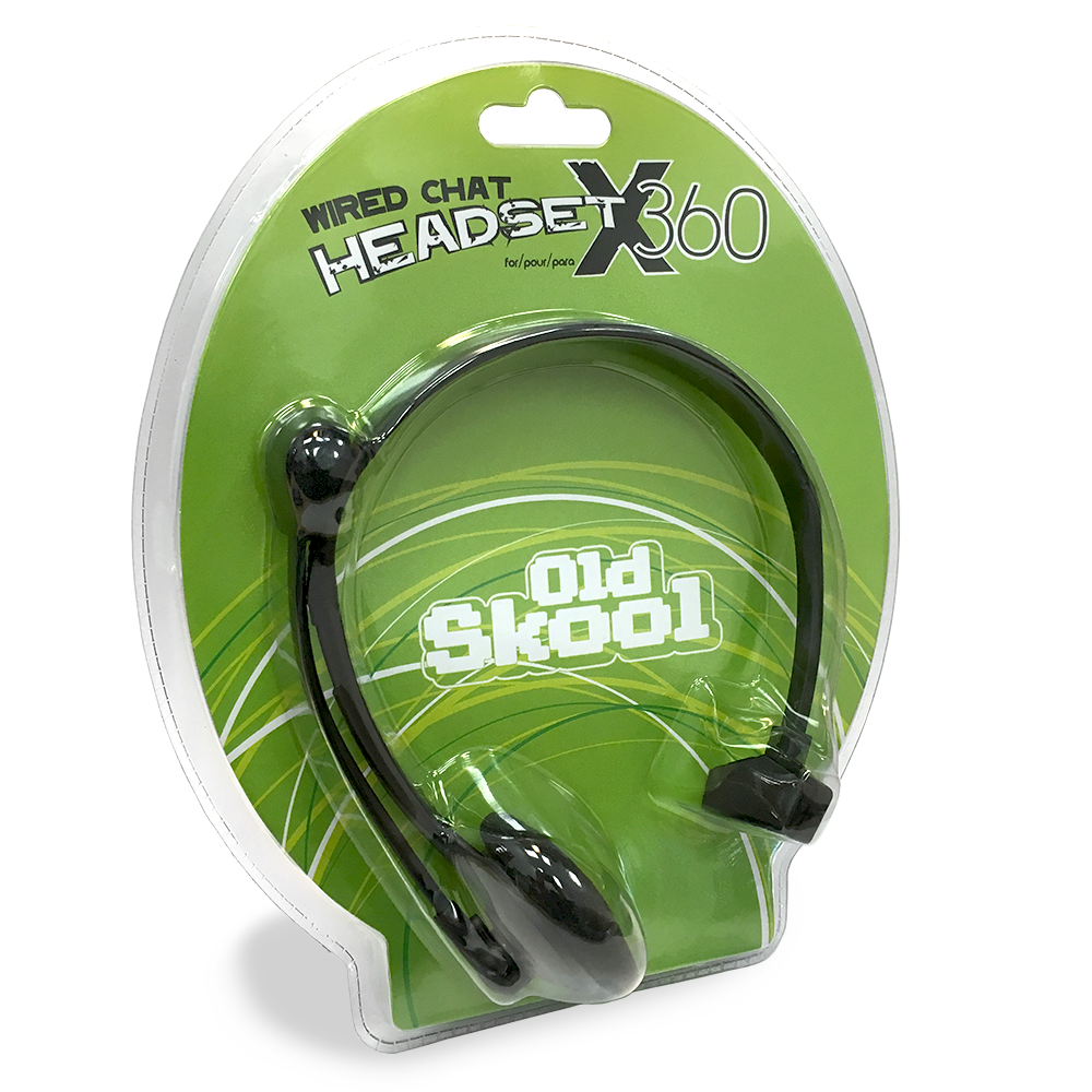 XBOX 360 Wired Chat Headset