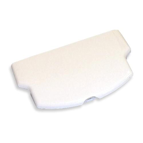 Slim Battery Door Cover- Ceramic White