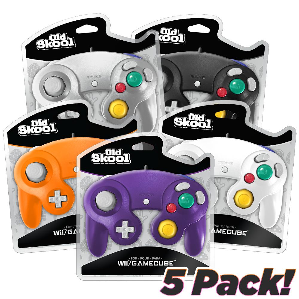 GameCube Controller 5 Pack
