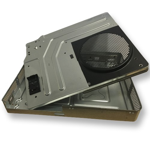 XBox One System Metal Shield Top and Bottom