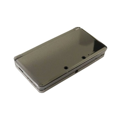 3DS Replacement Dual Injection Full Shell - COSMO BLACK