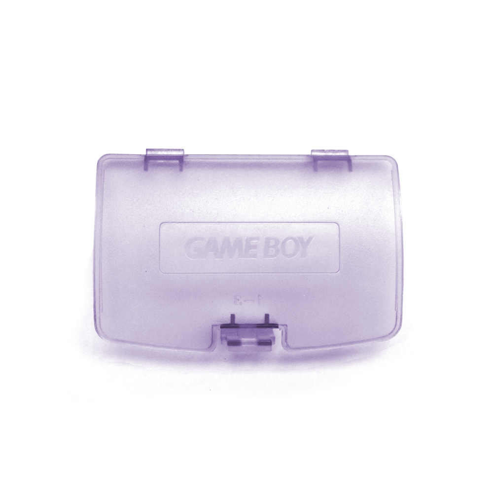 GameBoy Color Battery Cover - ATOMIC PURPLE
