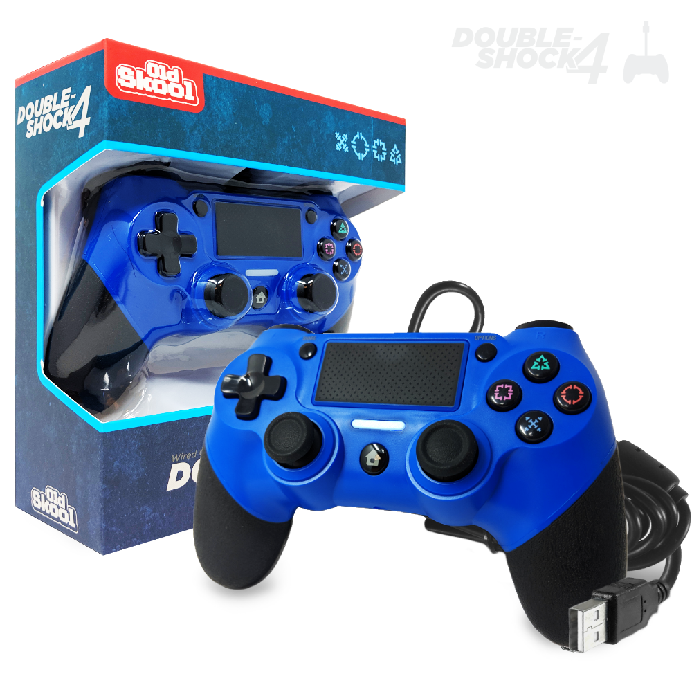 DOUBLE-SHOCK 4 Wired Controller for PS4 - Admiral Blue