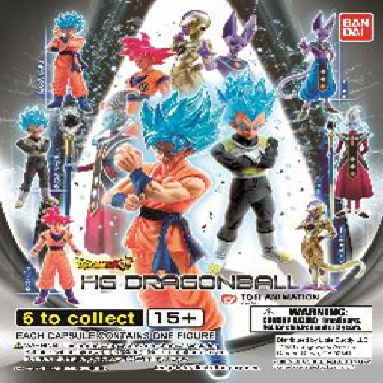 Gashapon! Dragon Ball HG God Edition - [50 Capsules]