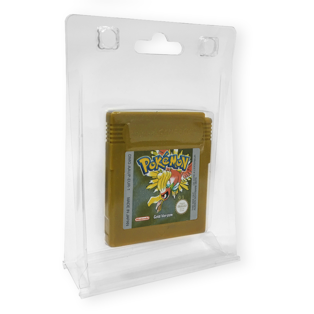 Hanging/Standing Game Display Case 30 PACK (GB / GBC / GBA / Memory Card)