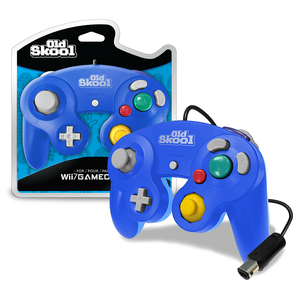 GameCube / Wii Compatible Controller - BLUE/CYAN