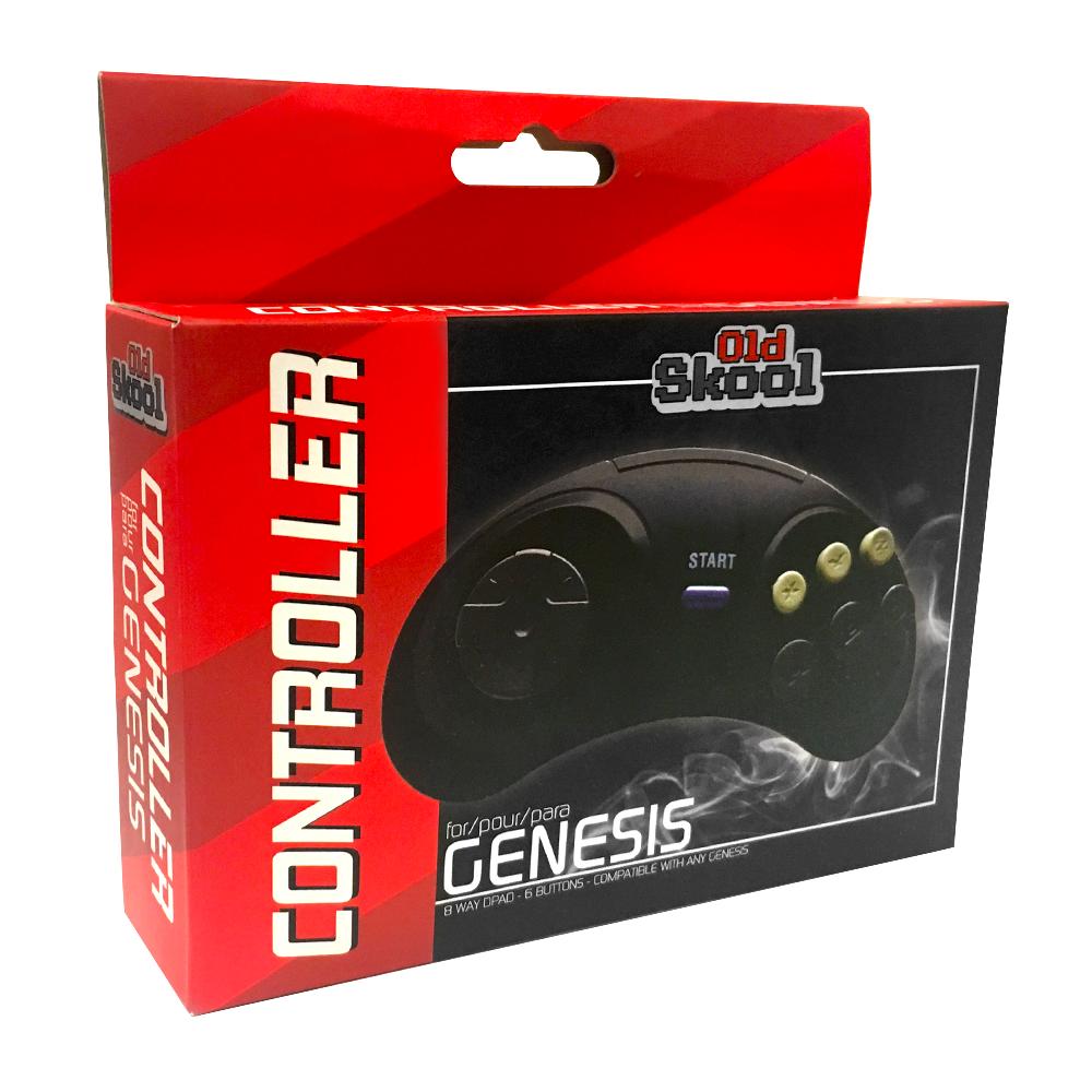 Sega Genesis Controller - 6-Button Game pad