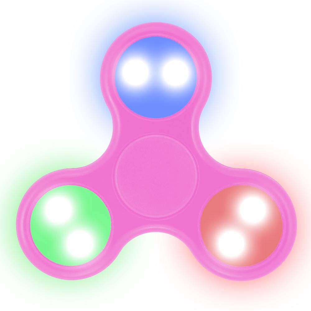 LED Fidget Spinner (PINK)