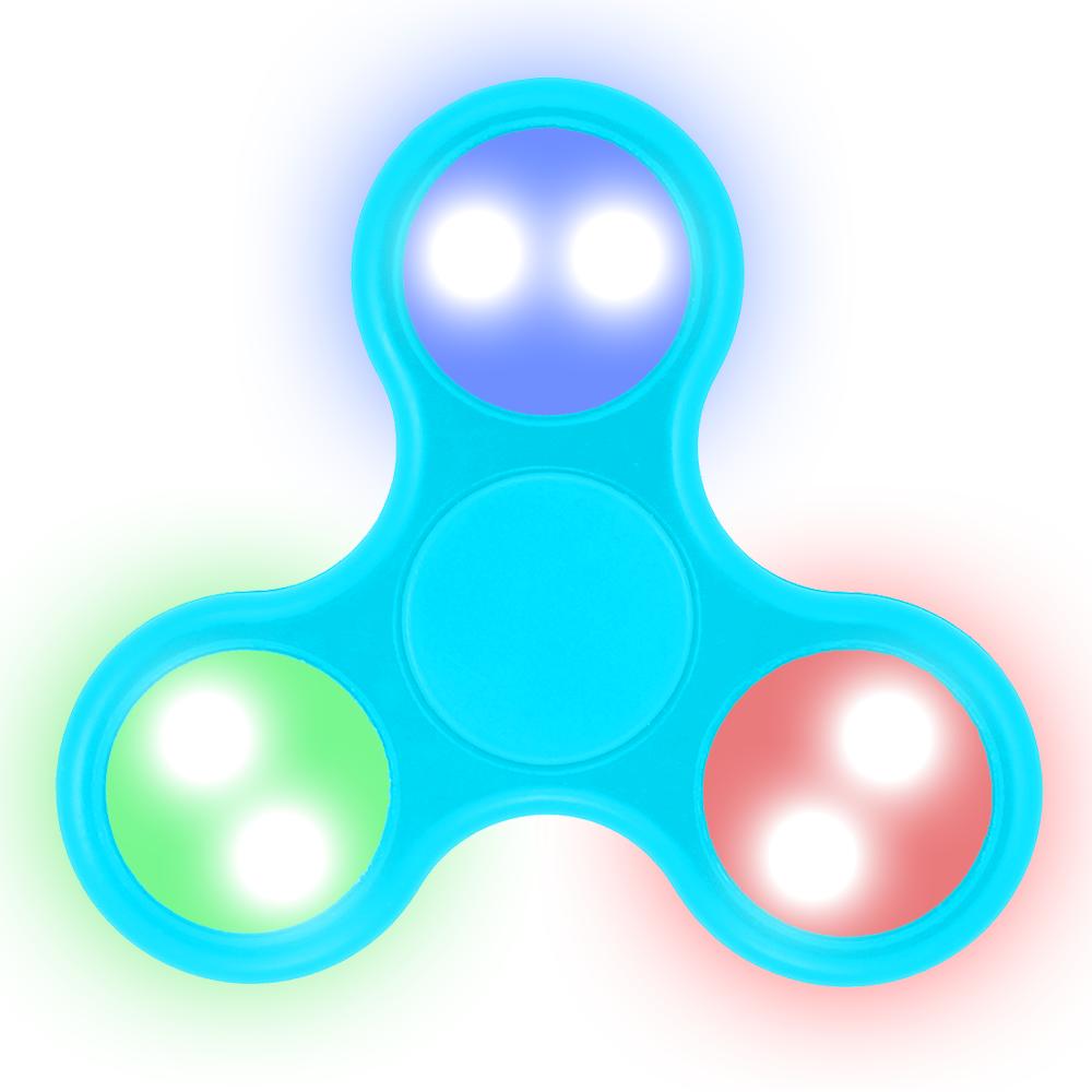 LED Fidget Spinner (SKY BLUE)
