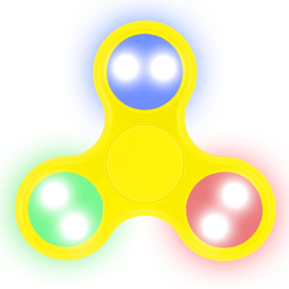 LED Fidget Spinner (YELLOW)