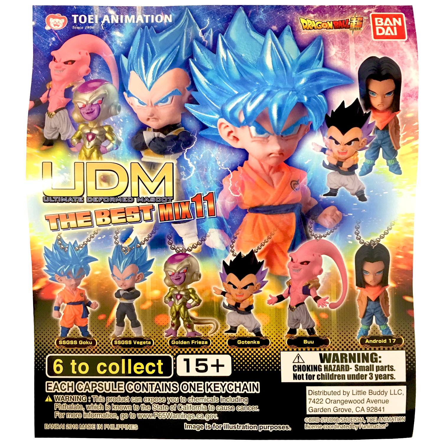 Gashapon! Dragon Ball Super - The Best Mix 11 [50 Capsules]