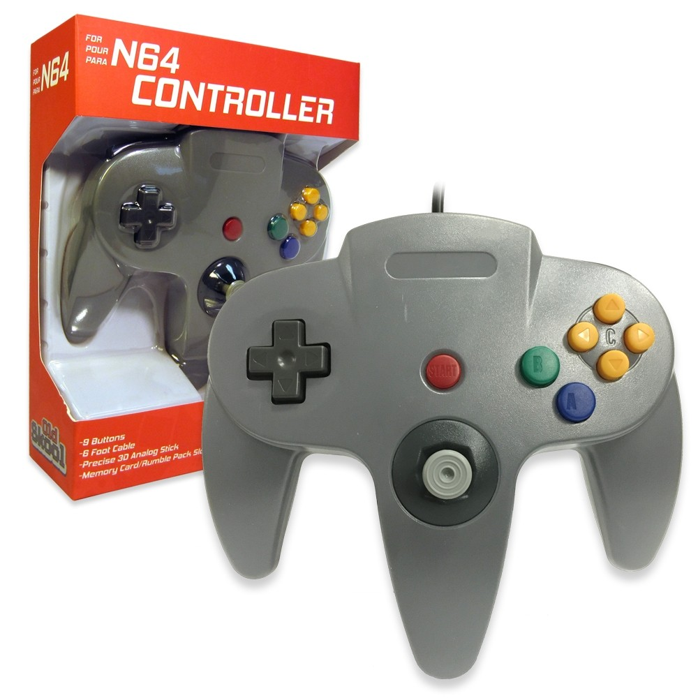 N64 Controller Grey