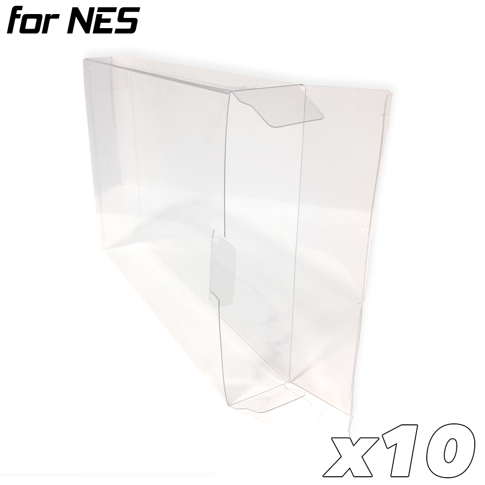 Game Box Protective Sleeve for NES (10x)