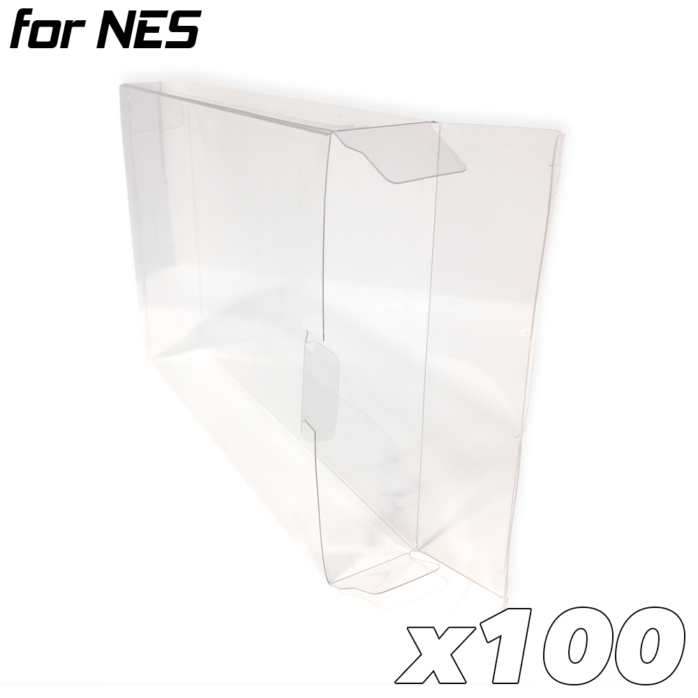Game Box Protective Sleeve for NES (100x)
