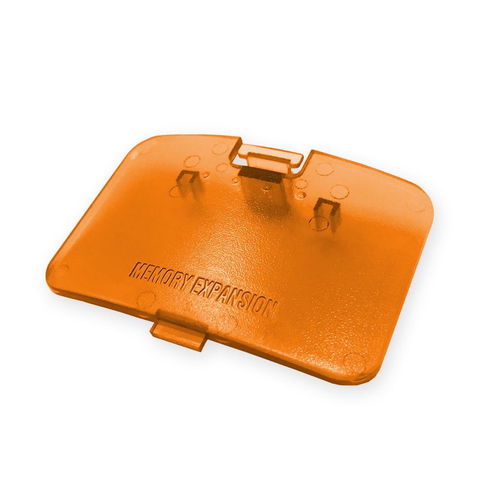 N64 Expansion Port Cover - Fire Orange