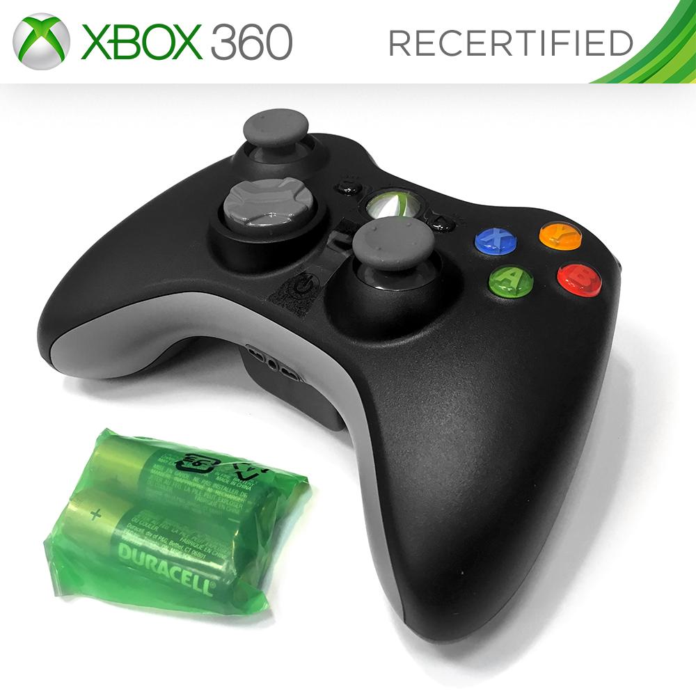 XBOX 360 Wireless Controller (Recertified)