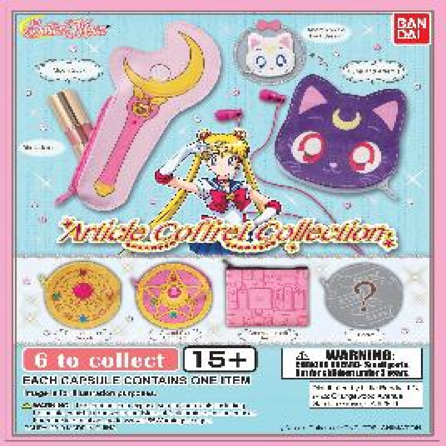Gashapon! Sailor Moon Article Collection - [50 Capsules]