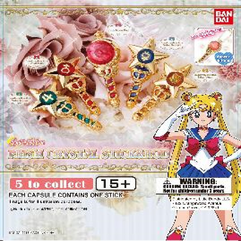 Gashapon! Sailor Moon Prism Crystal Stick & Rod - [50 Capsules]