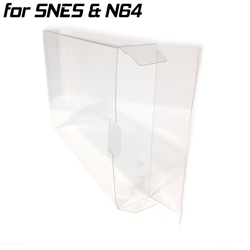 Game Box Protective Sleeve For N64 & SNES (1x)