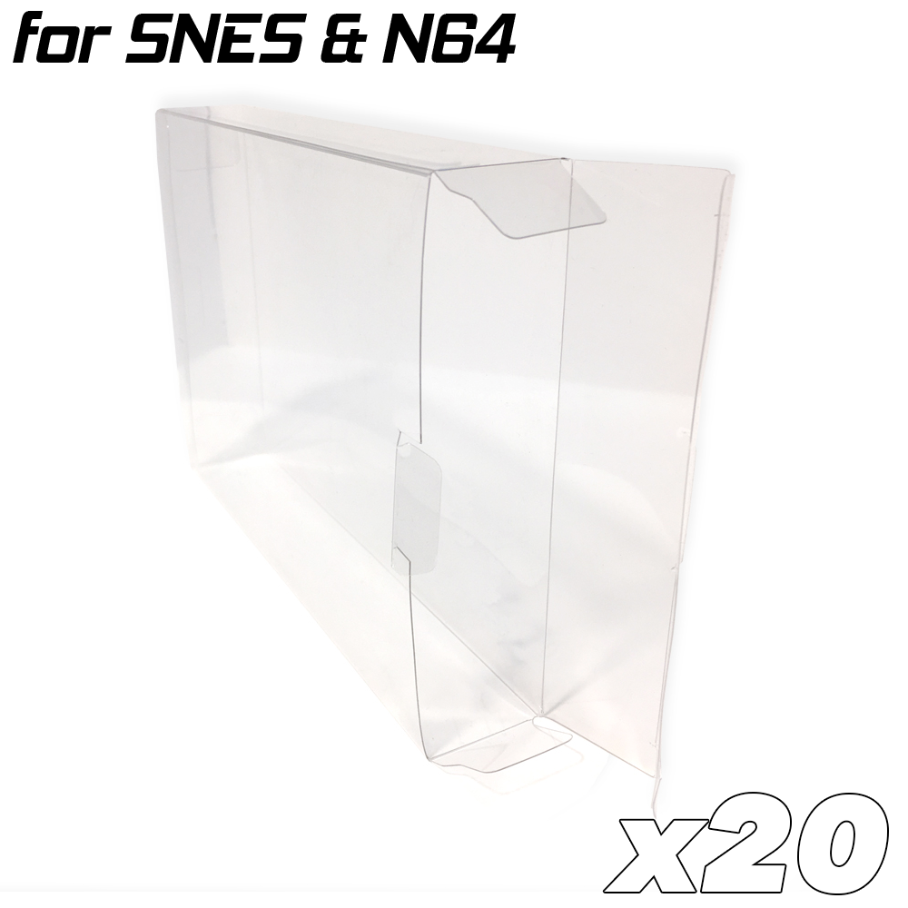 Game Box Protective Sleeve For N64 & SNES (20x)