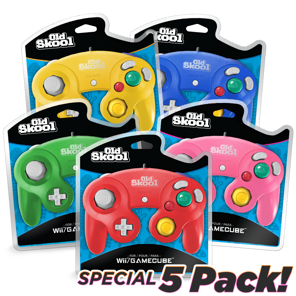 GameCube Controller 5 Pack [SPECIAL]