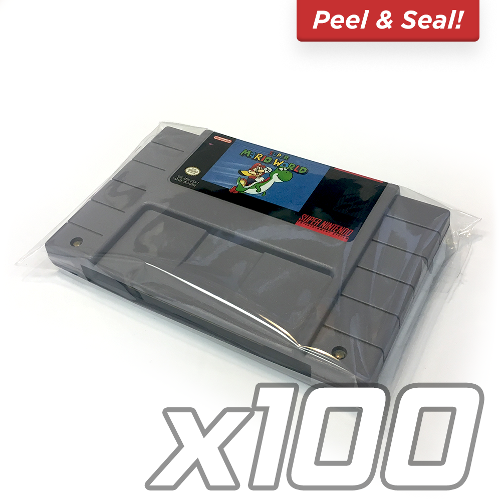 SNES Cartridge Bags [100-PACK]