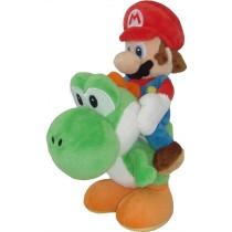 Mario Riding Yoshi 8 Inch Plush