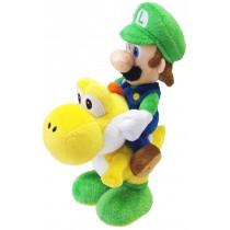 Luigi Riding Yoshi 8 Inch Plush