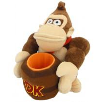 Barrel Donkey Kong 8 Inch Plush