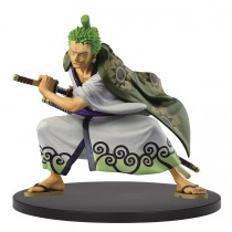 One Piece King of Artist The Ririnia Zoro Wanokuni Figure