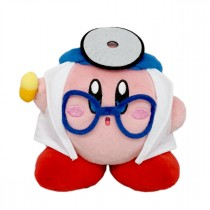 "Kirby 5"" Doctor Plush"