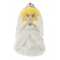 Peach Bride 16 Inch Plush