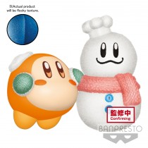 Kirby Fluffy Puffy Mine - Play in the Snow - B Kirby