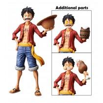 One Piece Monkey D. Luffy Grandista Nero Figure
