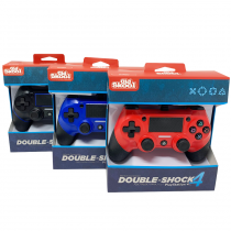 PS4 WIRED DOUBLE-SHOCK 4 CONTROLLERS (3-PACK)