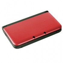 3DS XL Replacement Dual Injection Full Shell - (RED)