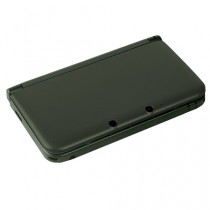 3DS XL Replacement Dual Injection Full Shell - (BLACK)