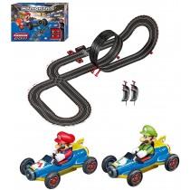 """Carrera """"GO"""" Mario Kart 8 Slot Car Racing Track w/ Mach 8 Mario & Luigi **Pre-Order**"""