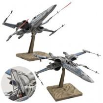 "Resistance X-Wing Star Fighter ""Star Wars: The Force Awakens"" Bandai Star Wars 1/72 (Model Kit)"