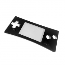 GameBoy Micro Replacement Faceplate (BLACK)