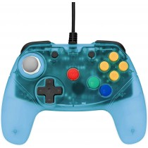Retro Fighters Brawler 64 Controller - Blue