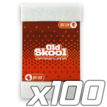 Old Skool Cartridge Cleaner [100 Pack]