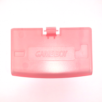 GBA Battery Cover CLEAR PINK