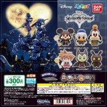 Gashapon! Colle-Chara Kingdom Hearts - [50 Capsules]