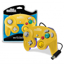 GameCube / Wii Compatible Controller - YELLOW/PURPLE