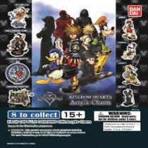 Gashapon! Kingdom Hearts Acrylic Key Chain Capsules - [50 Capsules]